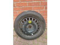 Mercedes E Class Space Saver Wheel