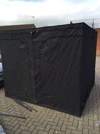Cheshunt Hydroponics Store - used grow tent 2.4 x 2.4 x 2m