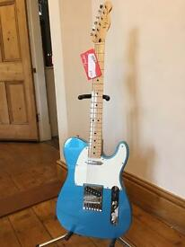 *AS NEW* - 2016 Fender Standard Telecaster Guitar – Lake Placid Blue