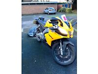 Yellow Aprilia RS4 125 2016