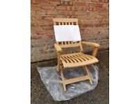 Reclining Garden Chair