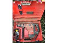 Hilti TE 60 ATC AVR 110v Concrete Breaker / Rotary Hammer Drill Plus New Chisel