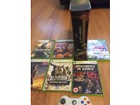 Xbox 360. 60GB. ldt game console. Complete 6 games.