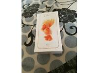I phone 6s 32gb in rose gold brand new boxed unused