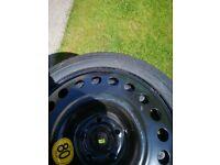 Vauxhall mokka wheel set