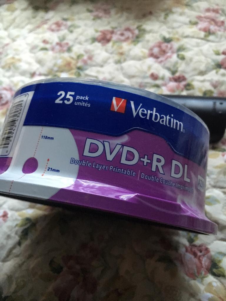 Dvd Verbatim Double Couche on