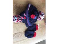 Next hat & mittens age 1-2