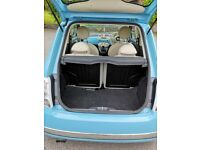 Fiat 500 1.2 Lounge. Qne previous owner,full service history, great first car,cheap to run