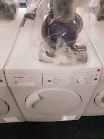 Bosch 7kg condenser dryer with warranty