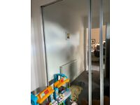 4 x mirror wardrobe doors