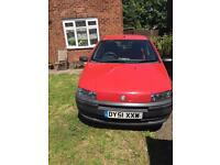 2001 Fiat punto 1.2 petrol Manual Red No Mot / easy to pass /Gearbox. / engine perfect 👍