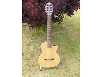 Crafter CT125 electro-nylon solid guitar.