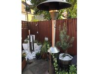 3 Separate or together Large Patio Commercial Grade Stainless Steel Flame Gas Patio Heater
