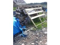 Wooden pallets - free to pick