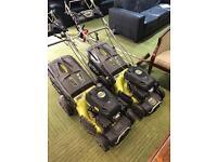 Petrol Lawnmowers x 2 Ryobi 173cc