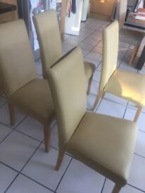4 Dining Chairs - excellent condition - £55 ono