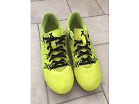 Sz adidas studded football boots