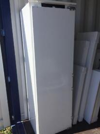 AEG Integral Tower Fridge £860 NEW ! Ex Display Never Been Used.