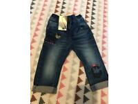 Baby girls Bnwt next jeans 6-9 Months