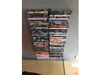 100 x DVDs