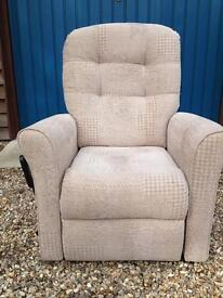 Electric recline and tilt chair