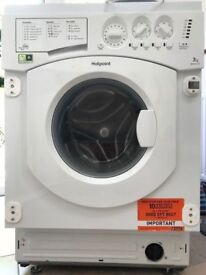**HOTPOINT**INTEGRATED WASHING MACHINE**7 KG 1200 SPIN** A+++**COLLECTION\DELIVERY**NO OFFERS**