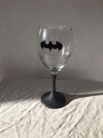 Batman wine glasses