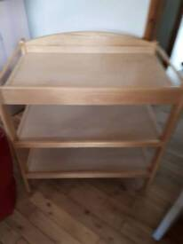 """PINE BABY CHANGING UNIT HEIGHT 32"""""""