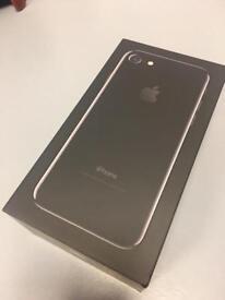 iPhone 7 128gb UNLOCKED - Jet Black - New