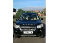 LAND ROVER FREELANDER 2 HSE BLACK DIESEL AUTOMATIC FULL LEATHER