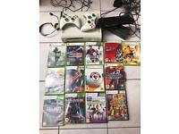 Xbox360 console, Kinect, 9 games