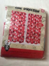 One direction curtains bedroom kids 1d music