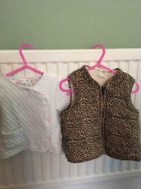 Lovely bundle of baby girl's clothes 6-12 months (gap, next etc)