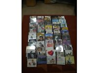 Job Lot 60 DVD's and 67 CD's for Sale