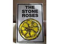 The Stone Roses Debut Framed Lemon Promo Poster 24 x 36