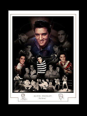 ELVIS: THE MOVIES MONTAGE PRINT