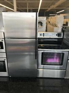 STAINLESS STEEL FRIDGE & STOVE PACKAGE FOR $499 EACH