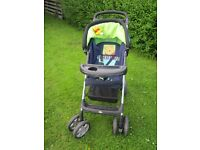 push chair with cover very modern