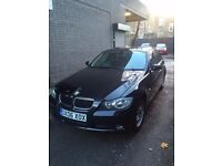 2006 Manual Black BMW E90, 318I With Extra Option Such as Sub, Sat Nav, Camera and ETC