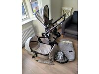 Joolz Day pram and carrycot + extras