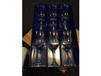 Renaissance wine goblets verse a vin