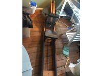 Water Rower with performance monitor