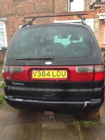 URGENT FORD GALAXY 1.9 TDI AUTOMATIC £300 ONO