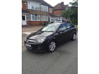 Vauxhall Astra 1.6 i 16v sxi 2007 (07) 5 dr black 12 months MOT 1 previous owner LOW mileage FSH
