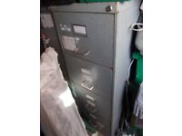 4 draw metal filling cabinets 2 available