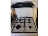 Flavel gas cooker with eye level grill