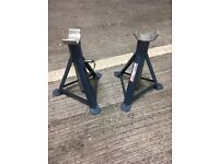Heavy Duty Axle Stands (2 Tonne per stand / 4 Tonne per pair)