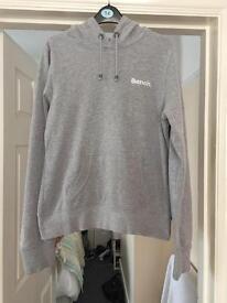 Grey bench hoodie