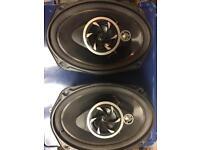 Pioneer 6x9s 330w speakers