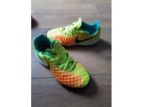astro turf football boots size 1